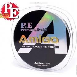 Шнур AMIGO P.E. Premium Braided Line 150m Green