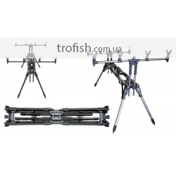 Rod Pod Fishing ROr I Fast Cap matt silver