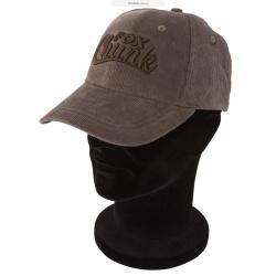 Fox Chunk Khaki Cord Baseball Cap Кепка CPR603