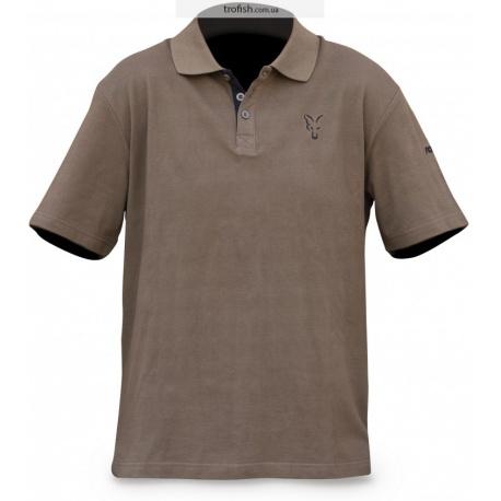 Fox CHUNK polo shirt  Khaki  Поло с воротником CPR593-CPR598