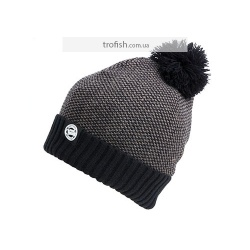 Fox Chunk Marl Bobble Grey/Black Шапка 	CPR762