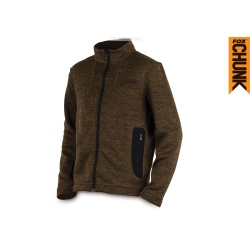 Fox   Chunk Medium Knit Cardigan Khaki Marl  ТолстовкаCPR468-CPR473