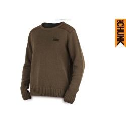 Fox   Chunk Heavy Knit Jumper Khaki  Толстовка  CPR492-CPR497