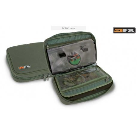 Fox FX Stiff Rig Wallet Case  Кейс - поводочница с файлами CLU220