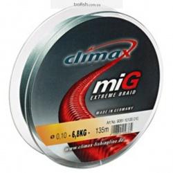 Climax Шнур  Mig Braid NG Gray-Green 100 m