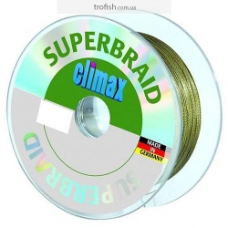 "Climax Шнур  Superbraid ""Round"" Green  100 m"