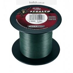 Spiderwire Шнур Stealth Moss Green 1800 m