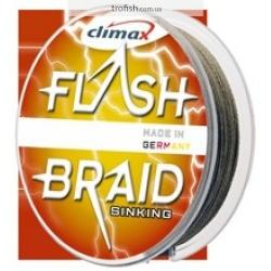 Climax Шнур  Flash Braid Green 100 m (в индивидуальной упаковке)