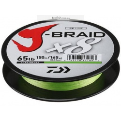 Daiwa Шнур  J-Braid Chartreuse 150м