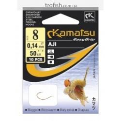 Kamatsu Крючки  Aji  К-016 G  c поводком   50 cm