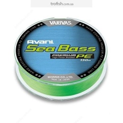 Varivas   Шнур New Avani Sea Bass PE  150m Green