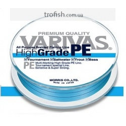 Varivas  Шнур High Grade PE 150m  Blue