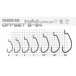 Крючки Fishing ROI Offset B94