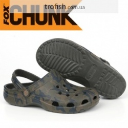 Fox Chunk Camo Clogs Сандали