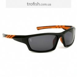 Fox Sunglasses Black Orange Wraps  Солнцезащитные очкиCSN039