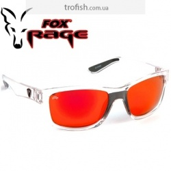 Fox Rage Sunglasses trans / Mirror Red fiinish / grey lense Солнцезащитные очки