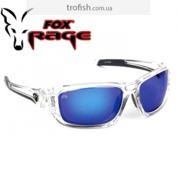 Fox Rage Sunglasses wraps trans / Mirror Blue / brown lense   Солнцезащитные очки