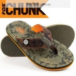 Fox Chunk Camo flip flop  Тапочки