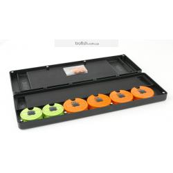 Fox F box Disc and Rig Box System inc Pins and Discs  Поводочница система
