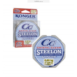 Леска Konger Steelon CC Cristal Clear Fluorocarbon coated  150 m