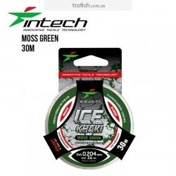 Леска Intech Khaki Ice Line moss green 30m