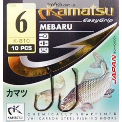 Kamatsu Крючки  Mebaru   К-810 BLN