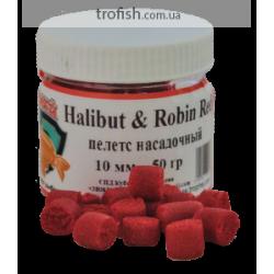 """Пелетс насадочный """"Halibut-Robin Red""""-10 мм 50 гр"""