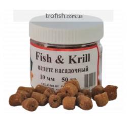 """Пелетс насадочный """"Fish-Krill""""-15 мм 50 гр"""