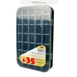 Коробка 35 ячеек со съемными перегородками